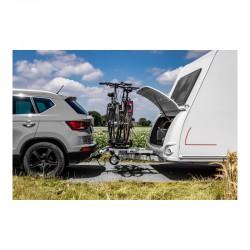 Uniek aan deze Enduro fietsendrager is het schuifsysteem